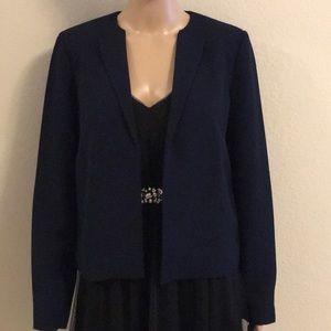 NWT Armani Exchange navy blazer size 6